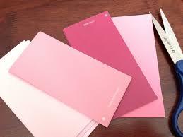 martha stewart home decorators catalog pink hildagotrocks i grabbed several different colors of paint chips
