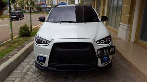 mitsubishi asx 2015 black avantgarde auto outlander sport custom headlights