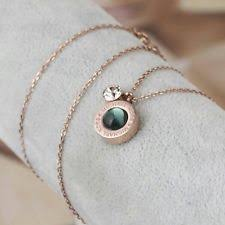 rose gold tone necklace images Michael kors necklace ebay jpg