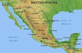 map of mexico yucatan region physical geography and environment mexico