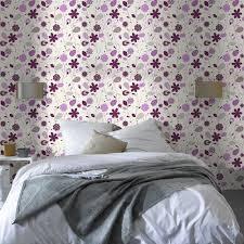 tapisserie pour chambre adulte papier peint décoration bien choisir le papier peint selon la pièce