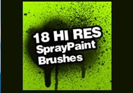 Photoshop Spray Paint - free photoshop brushes free your imagination and create