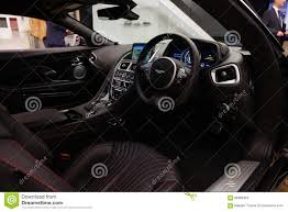 aston martin db11 interior aston martin db11 editorial stock photo image of elegant 68986463