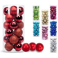 christmas balls ki store 24ct christmas ornaments shatterproof
