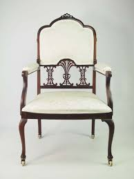 Bedroom Armchairs Antique Edwardian Mahogany Armchair Bedroom Chair