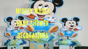 mickey mouse baby shower decorations mickey mouse baby shower decorations