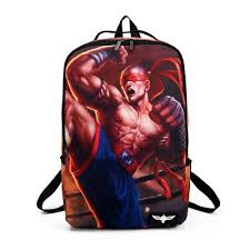 Lol Blind Buy Lol Backpack League Of Legends Yasuo Teemo Bag