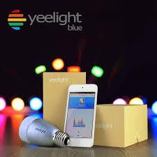 light bulbs controlled by iphone yeelight blue ii newest original xiaomi yeelight blue smart light