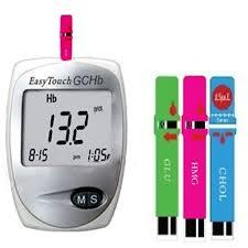 Alat Tes daftar harga easy touch gchb 3 in 1 alat tes kolesterol gula