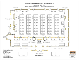 2017 palm springs exhibitor floor plan and exhibitor list