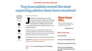top broadcast journalism graduate schools nyfa broadcast journalism weekly update oct 9