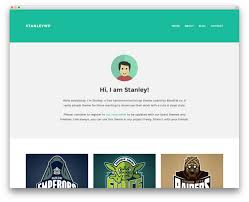 best free portfolio templates 50 beautiful free responsive themes to build awesome