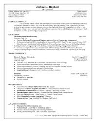 Resume Sample Using Html by 100 Building Engineer Resume 100 Building Construction