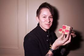 hannah billie hannah blilie drummer from the gossip why london is whlwahhh and