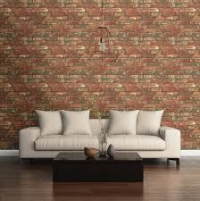 Peal And Stick Wall Paper West End Brick Peel And Stick Wallpaper Nu2088 U2013 D Marie Interiors