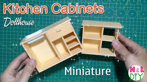 diy miniature kitchen cabinets how to make kitchen cabinets for