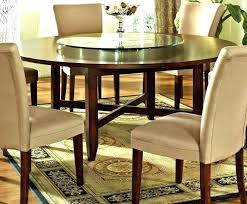 traditional round glass dining table round kitchen table with 6 chairs round dining room sets for 6