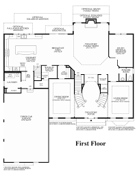 Estate Floor Plans by High Pointe At St Georges Estate Collection The Hollister