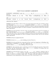 party wall agreement form 3 free templates in pdf word excel
