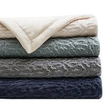 regency heights quilted velvet throw blanket bed bath beyond