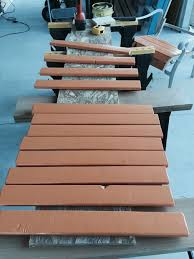 Replace Wood Slats On Outdoor Bench Patio Chair Re Build 5 Steps With Pictures