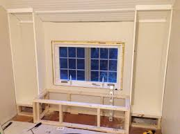 How To Build In Bookshelves - astonishing window seat with bookcase 42 for red bookcase with