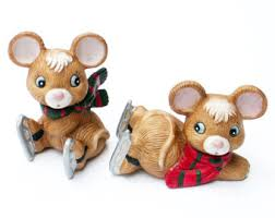 home interior collectibles homco mice etsy