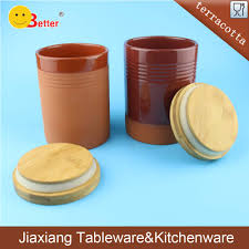 ceramic canister set with wooden lids ceramic canister set with