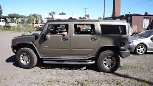 nissan jeep 2000 2005 hummer h2 suv 6 0l v8 parts vehicle driving test 161101