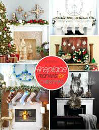 christmas fireplace mantel runners mantels pinterest view gallery
