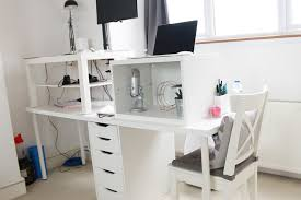 ikea computer desk hack inspirational desk hacks ikea standing hack white derektime design