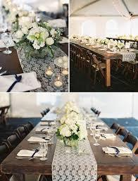 lace table runners wedding backyard black tie wedding tammy ben wedding ing pinterest