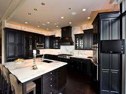 Matte Black Kitchen Cabinets Likeable Black Kitchen Cabinets Kitchen Home Decoractive Black