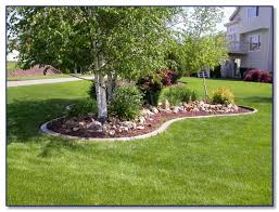 creative landscape borders for concrete landscape edging in