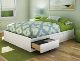 Bed Frame Drawers Platform Bed Size With Drawers Foter