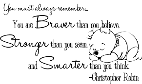 winnie the pooh wall decal christopher robin nursery quote 35 00 winnie the pooh wall decal christopher robin nursery quote 35 00 via etsy