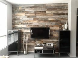 Wood Wall Panels by Accent Wood Wall We Love The Contrast Of The White Shiplap Wall