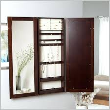 Jewellery Organiser Cabinet Adding Wall Mounted Jewelry Box Armoire Mirror Jewellery Cabinet