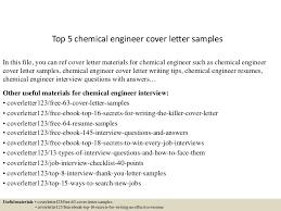 Chemical Engineer Cover Letter cdn slidesharecdn ss thumbnails top5chemicalen