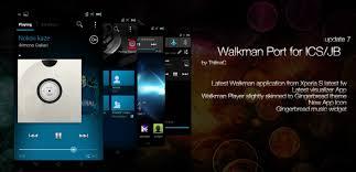 sony xperia player apk updated 10 06 app xperia v walkman v7 5 i sony ericsson