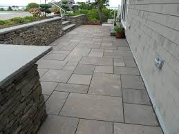 stone patio ethan poulin landscaping patios