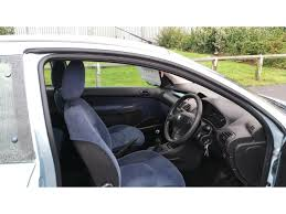 car peugeot 206 used peugeot 206 hatchback 1 4 hdi lx 3dr a c in stockton on