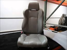 nissan 350z back seat nissan 350z custom leather seat covers youtube