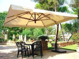 Patio Umbrella And Stand by Patio Umbrella Stand Wicker Rattan Outdoor Furniture Garden Deck