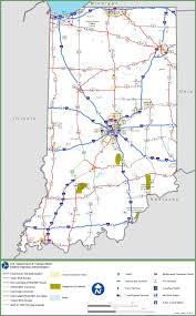 Map Of United States With Interstate Highways by Indiana Interstate Map