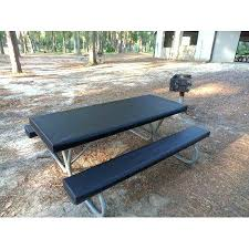 3 piece fitted picnic table bench covers picnic table cover and pad idearama co