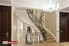 Wrought Iron Railings Interior Stairs Decorations Rod Iron Railings Wood Banister Indoor Stair