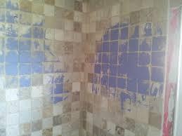 bathroom cool painting tile in bathroom shower home design