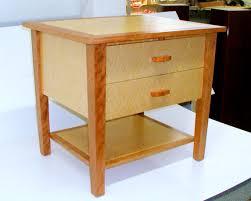 maple nightstand custom made cherry and maple nightstand rj fine woodworking