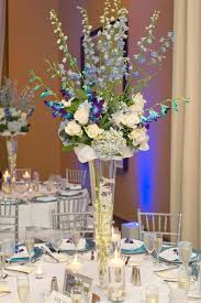 Blue Vases For Wedding Best 25 Tall Wedding Cakes Ideas On Pinterest Ivory Tall